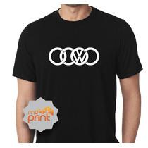 Camiseta Masculina Audi Tt A1 A3 Q7 Volkswagen