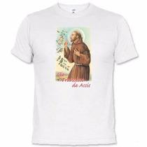 Camisetas Católicas São Francisco De Assis