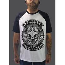 Raglan For Today Camisetas Regatas Blusa Moletom Bandas Rock