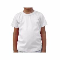 Camiseta Infantil Camisa Sublimação 100% Poliéster
