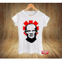 Camiseta Feminina Baby Look Flea Anthony Kiedis Red Hot Rock