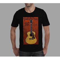 Camisetas Violão Gibson Jumbo Instrumento Musical