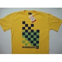 Camiseta Tamanho Extra Grande Xg Xgg Xxgg G2 G3 Quiksilver