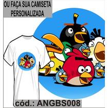 Blusa Camisa Camiseta Personalizada Sublimação Angrybirds 08