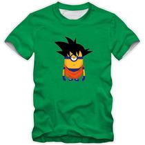 Camisetas Dragon Ball Z Goku Evolução Varios Modelos Camisas