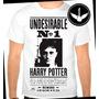 Camiseta Harry Potter Baby Look Regata Blusa Filme Livro