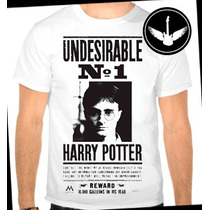 Camiseta Harry Potter Baby Look Regata Blusa Filme Livro