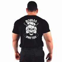 Camiseta Estampada Boinas Pretas Armas - Original