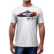 Camiseta F1 Ayrton Senna Honda Nsx Gp Personalizada