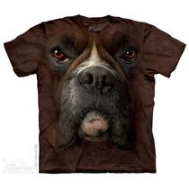 Camisa 3d Boxer Face The Mountain Original