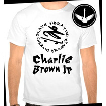 Camiseta Charlie Brown Jr Baby Look Regata Blusa Banda Rock
