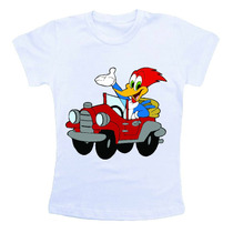 Camiseta Infantil - Pica Pau