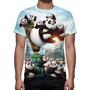 Camisa, Camiseta Filme Kung Fu Panda 3 - 2016