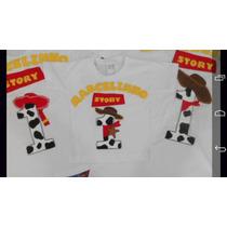 Camiseta Infantil Personalizada Toy Story