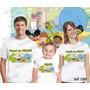 Camiseta Meu Amigãozão Aniversario Festa Kit Com 3 Uni