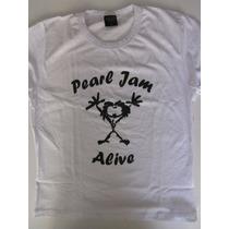 Blusinha Baby Look - Pearl Jam - Alive - Brutal Wear M