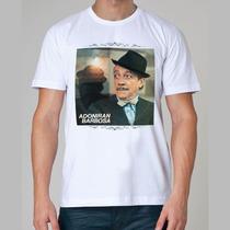 Camiseta Rock - Adoniran Barbosa, Cartola, Samba