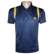 Camisa Polo Adidas Azul Marinho Treino (original)