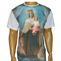 Camiseta De Nossa Senhora Do Carmo P M G Gg