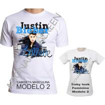 Camiseta Justin Bieber