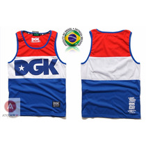 Camiseta Regata Tank Top Dgk Custom 100% Original Usa