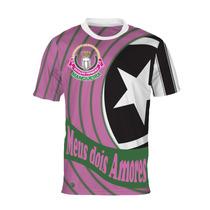 Camisa Meus Dois Amores - Mangueira E Botafogo