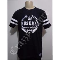 Camiseta Thiagão Deus É Mais Rap Gospel Crazzy Store