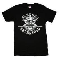 Camiseta Avenged Sevenfold - Camisa A7x De Bandas Rock