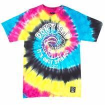 Camiseta Dgk Popeye Spinach Trip Tie Dye Original