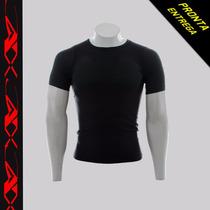 Camisa Térmica Compressao Pronta Entrega+1par Manguitos!