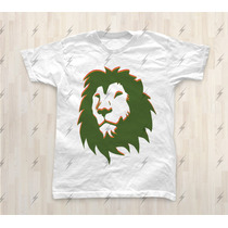 Camiseta Leão Reggae