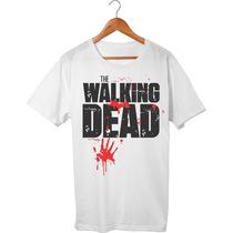 Camisa/camiseta/blusa Série The Walking Dead_ Pronta Entrega