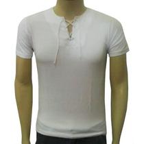 Camisa Estilo Bata Viscose Com Elastano Vária Cores