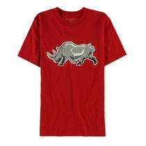 Ecko Unltd. Masculino Pixel Rinoceronte Gráfico T-camisa