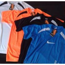 Kit 3 Camisetas Nike Dry Fit E 3 Shorts Nike Feminino