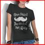 Camiseta Feminina Frases Harry Potter Once Again