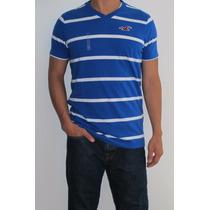 Camisetas Hollister Listradas - Importado - Original