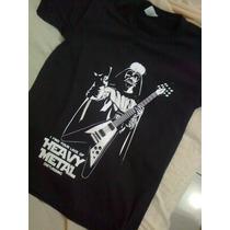 Camiseta Darth Vader Star Wars Camisa Dark Side