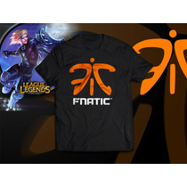 Camiseta Fnatic League Of Legends