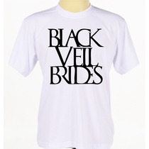 Camiseta Banda Black Veil Brides Camisa Bvb Rock