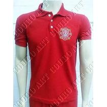 Camiseta Pólo Bombeiro Civil - Brasão Vermelha