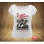 Camiseta Feminina Gola Canoa Capitão América Vingadores
