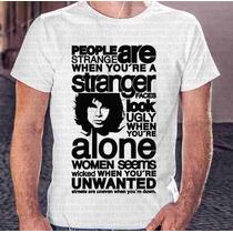 Camiseta Manga Curta Menino The Doors Jim Morrison