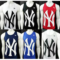 Camiseta Regata Masculina New York Yankees Ny Academia
