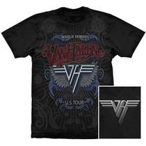 Camiseta Premium Van Halen World Famous Stamp