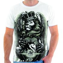 Camiseta Og Abel Leão Rei Nigga Estampada Sweg Hip Hop