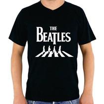 Camisa Camiseta The Beatles Banda Rock Hip Hop Rap Jaz Pop