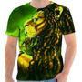Camiseta Reggae Leao Personalizada Sublimacao