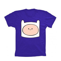 Camiseta Finn Hora De Aventura - Camisa Jake, Jujuba