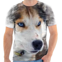 Camiseta De Husky Siberiano,cachorro,animal,estampada 2